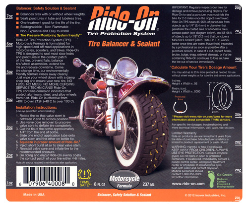 Ride-On-Label