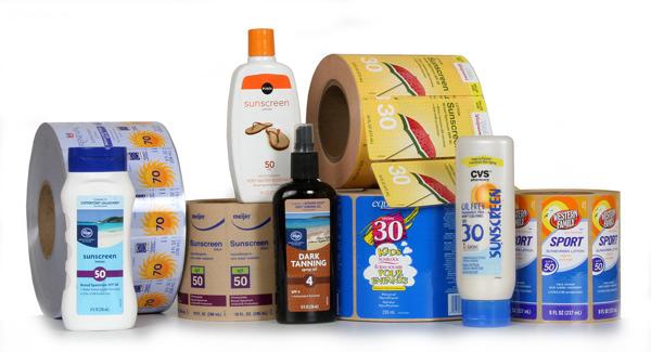 Sunscreen-labels