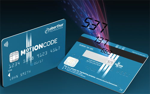 Motion Code is designed to prevent credit card fraud - Weber