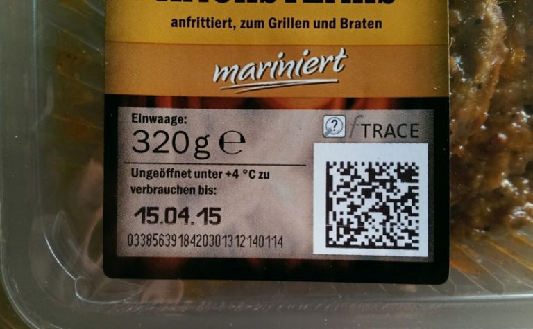 Lidl: More transparency with data matrix and QR code - Weber